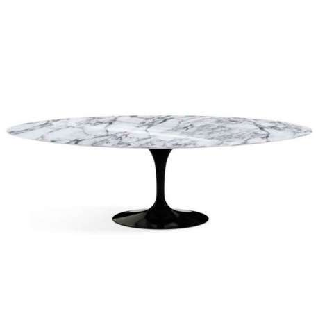 Saarinen Oval Tulip Dining table H73 - L244 - Knoll - Eero Saarinen - Dining Tables - Furniture by Designcollectors