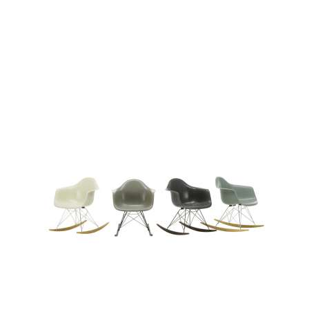 Eames Plastic Armchair RAR - Fiberglass - vitra - Charles & Ray Eames - Arm & Lounge Chairs - Furniture by Designcollectors