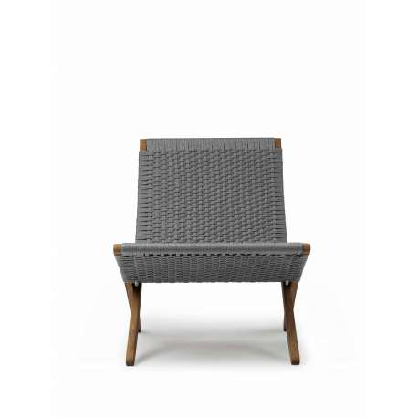 MG501 Cuba Chair Outdoor - Oiled Teak - Carl Hansen & Son - Morten Gøttler - Home - Furniture by Designcollectors