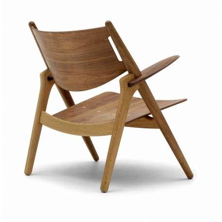 CH28T Lounge Chair - Carl Hansen & Son - Hans Wegner - Home - Furniture by Designcollectors