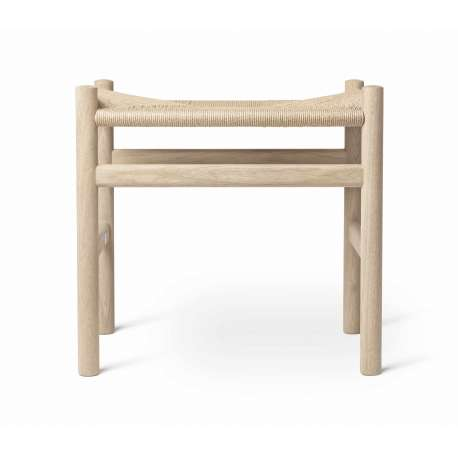 CH53 Footstool - Carl Hansen & Son - Hans Wegner - Furniture by Designcollectors