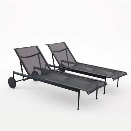 Schultz Adjustable Chaise Lounge Ligzetel Outdoor - Knoll - Richard Schultz - Stoelen - Furniture by Designcollectors