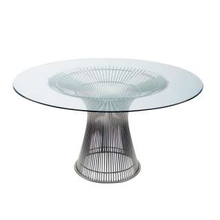Platner large round dining table