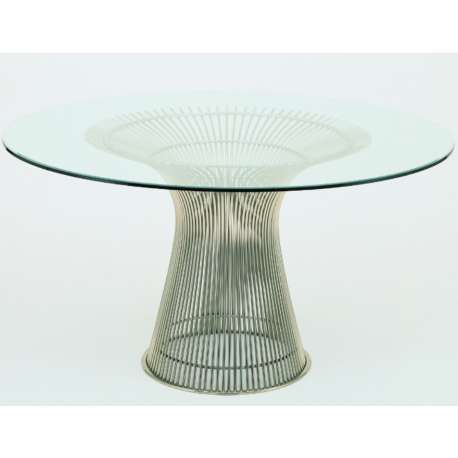 Platner large round dining table - Knoll - Warren Platner - Home - Furniture by Designcollectors
