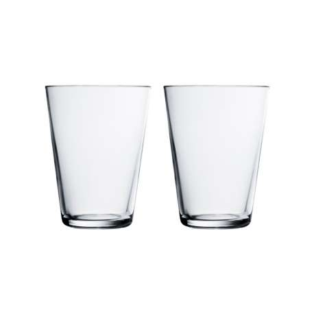 Kartio Tumbler 40 cl Clear: 2pcs - Iittala - Kaj Franck - Furniture by Designcollectors
