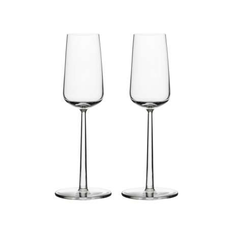 Essence Champagne glass 21 cl - 2 pcs - Iittala - Alfredo Häberli - Furniture by Designcollectors