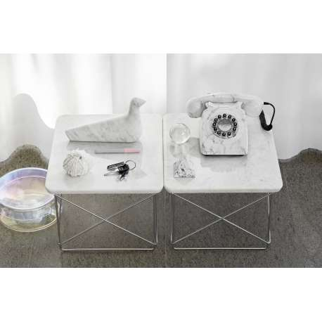 Occasional Table LTR Bijzettafel: marmer - vitra - Charles & Ray Eames - Home - Furniture by Designcollectors