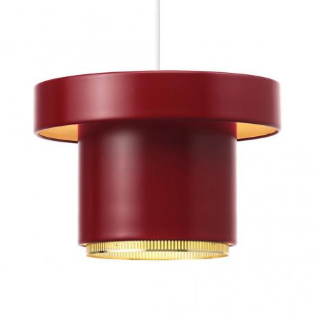 A201 Hanglamp Donkerrood / Messing - artek - Alvar Aalto - Home - Furniture by Designcollectors