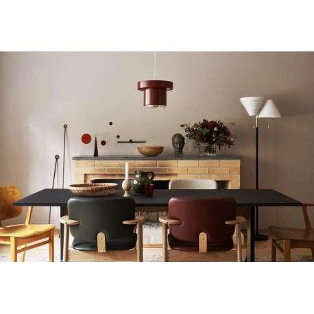 A201 Suspension Rouge foncé / Laiton - artek - Alvar Aalto - Accueil - Furniture by Designcollectors