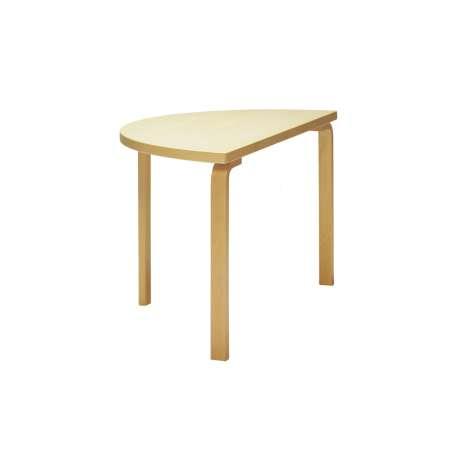 95 Aalto table half-round - artek - Alvar Aalto - Home - Furniture by Designcollectors