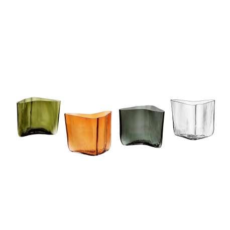 Alvar Aalto Collection vase 175 x 140 mm moss green - Iittala - Alvar Aalto - Home - Furniture by Designcollectors