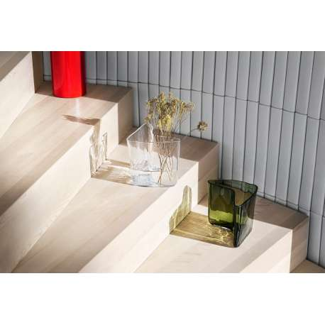 Alvar Aalto Collection vase 175 x 140 mm clear glass - Iittala - Alvar Aalto - Home - Furniture by Designcollectors