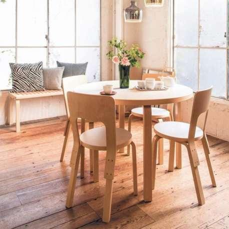 90B Table - artek - Alvar Aalto - Home - Furniture by Designcollectors