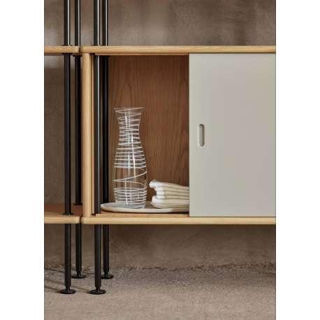 BM0253 Cabinet with 4 Shelves - Carl Hansen & Son - Børge Mogensen - Opbergen - Furniture by Designcollectors