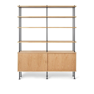BM0253 Cabinet with 4 Shelves