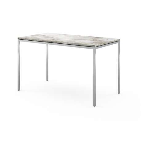 Florence Knoll Mini Desk Calacatta marble - Knoll - Furniture by Designcollectors