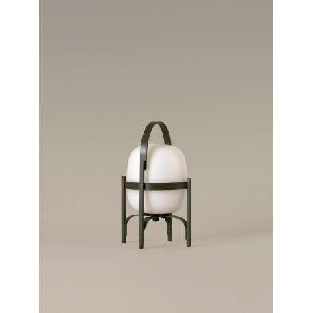 Cestita Alubat Olive Green - Santa & Cole - Miguel Milá - Home - Furniture by Designcollectors