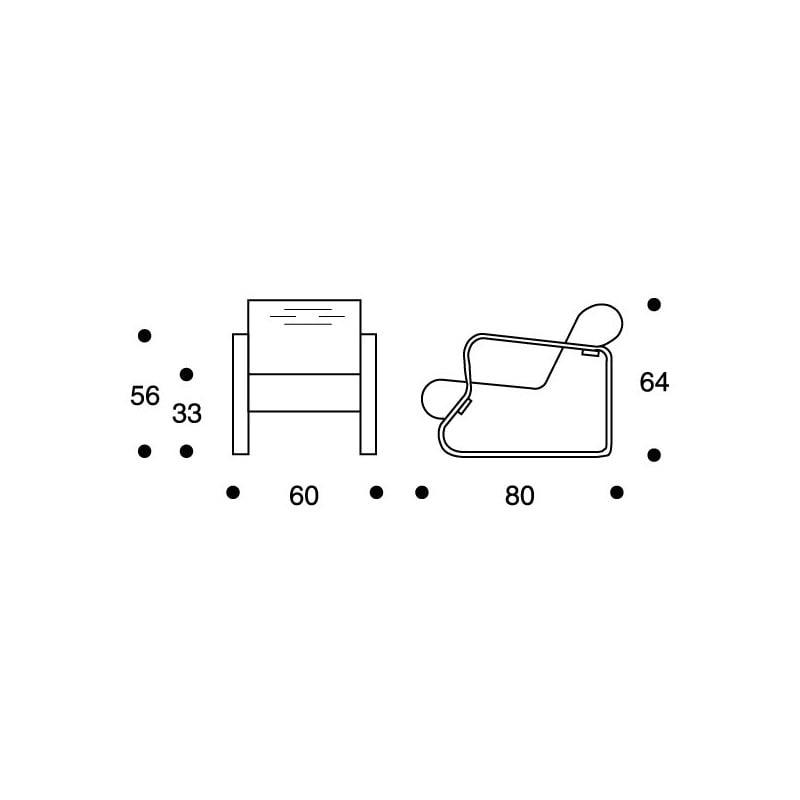 dimensions 41 Armchair