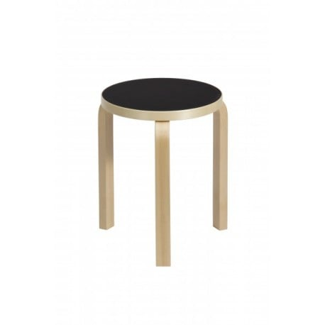 60 Stool 3 Legs Natural Lacquered - artek - Alvar Aalto - Back to school - Furniture by Designcollectors