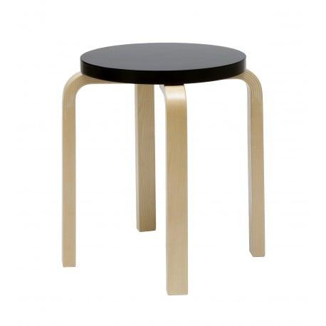 E60 Stool 4 Legs Natural Lacquered - artek - Alvar Aalto - Back to school - Furniture by Designcollectors