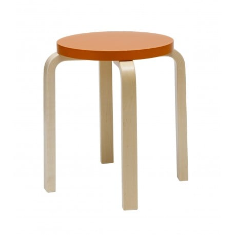 E60 Stool 4 Legs Natural Lacquered - Artek - Alvar Aalto - Stools & Benches - Furniture by Designcollectors
