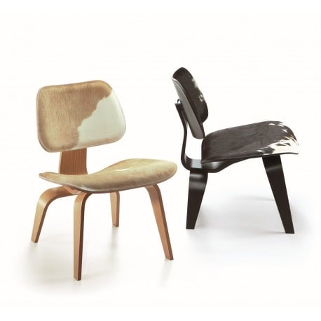 Plywood Group LCW Calf's Skin - vitra -  - Arm & Lounge Chairs - Furniture by Designcollectors