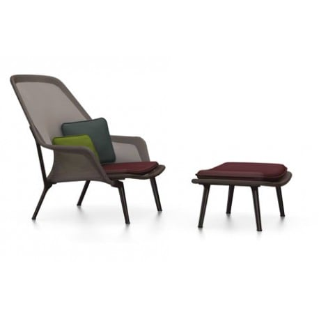 Slow Chair & Ottoman - vitra - Ronan and Erwan Bouroullec - Arm & Lounge Chairs - Furniture by Designcollectors