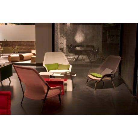 Slow Chair & Ottoman - vitra - Ronan and Erwan Bouroullec - Home - Furniture by Designcollectors