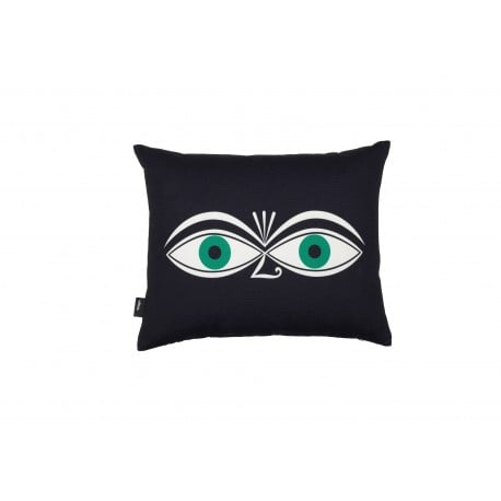 Graphic Print Pillow: Eyes - Vitra - Alexander Girard - Textiles - Furniture by Designcollectors