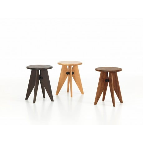 Tabouret Solvay - vitra - Jean Prouvé - Stools & Benches - Furniture by Designcollectors