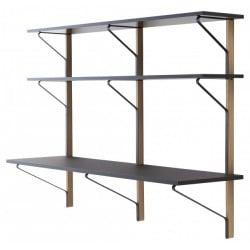 REB 010 Kaari shelf with desk