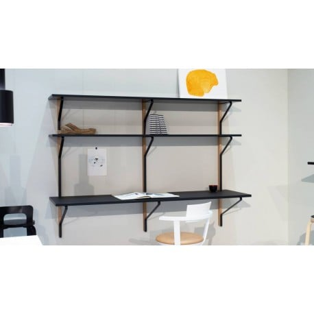 REB 010 Kaari shelf with desk - artek - Ronan and Erwan Bouroullec - Home - Furniture by Designcollectors