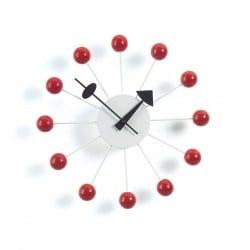 Nelson Ball Horloge Rouge