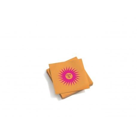 Paper napkins: La Fonda Sun small-pink orange - vitra -  - Back-to-school - Furniture by Designcollectors