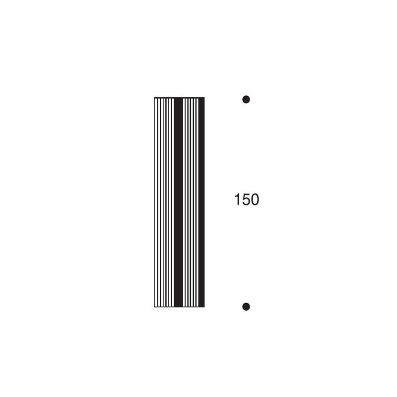 afmetingen Artek 100 Kamerscherm - artek - Alvar Aalto - Schermen - Furniture by Designcollectors