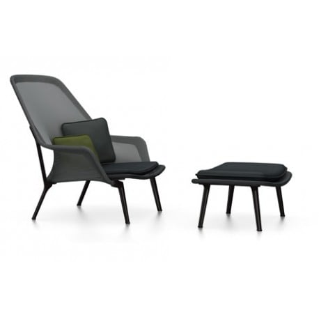Slow Chair Ottoman - Vitra - Ronan and Erwan Bouroullec - Arm & Lounge Chairs - Furniture by Designcollectors