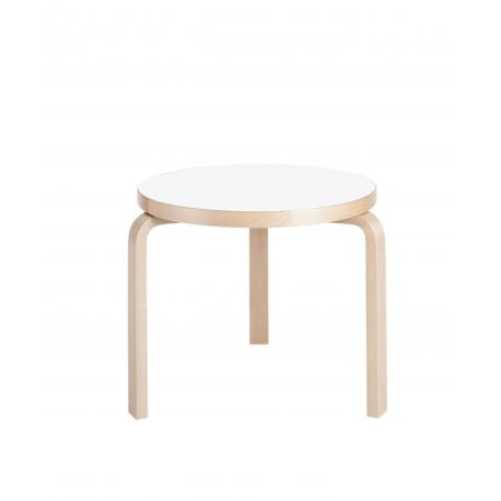 90C Table - artek - Alvar Aalto - Low and Side Tables - Furniture by Designcollectors