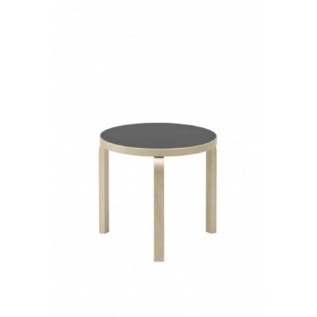 90D Table - artek - Alvar Aalto - Low and Side Tables - Furniture by Designcollectors