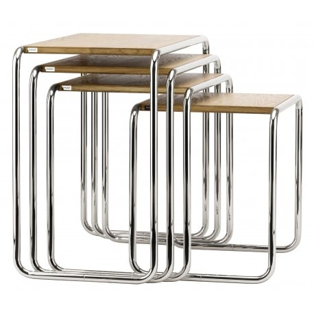 B 9 Side Table Pure Materials - Thonet - Marcel Breuer - Tables - Furniture by Designcollectors