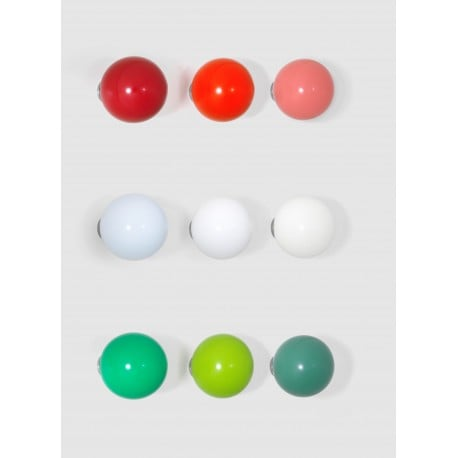 Coat Dots, 1 set of 3 white - vitra - Hella Jongerius -  - Furniture by Designcollectors