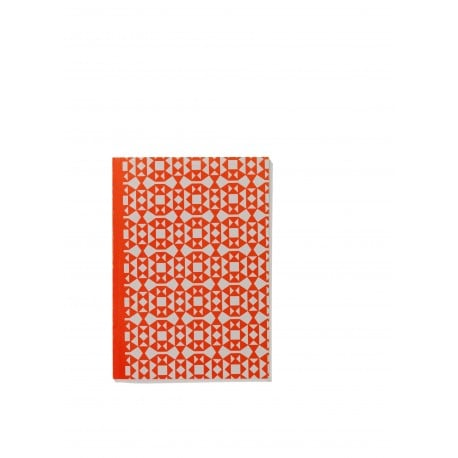 Notebook Soft Cover A5, Facets orange - vitra -  - Back-to-school - Furniture by Designcollectors