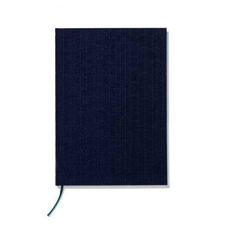 Notebook hardcover A4 Graph Navy Blue/Petrol - vitra - Alexander Girard - Back to school - Furniture by Designcollectors