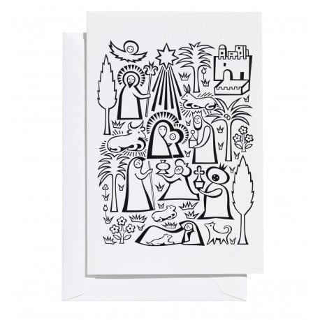 Greeting Card: Nativity (L) - vitra - Alexander Girard - Accessories - Furniture by Designcollectors