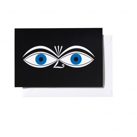 Greeting card: Eyes blue - Vitra - - Accessories - Furniture by Designcollectors