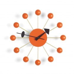 Ball Clock - Orange