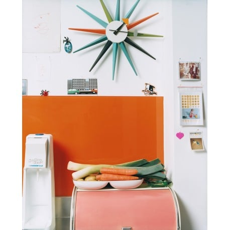 Sunburst Clock: Multicolor - vitra - George Nelson - Gifts - Furniture by Designcollectors