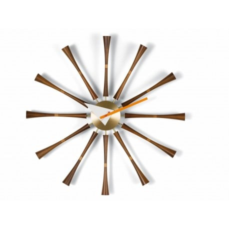 Nelson Spindle Clock Klok - Vitra - George Nelson - Klokken - Furniture by Designcollectors