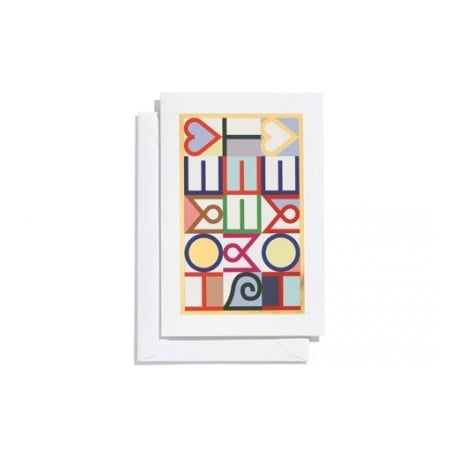 Greeting Card: Home Sweet Home (M) - Vitra - Alexander Girard - Accessories - Furniture by Designcollectors