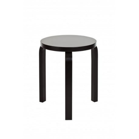 60 Stool 3 Legs White or Black Lacquered - Artek - Alvar Aalto - Stools & Benches - Furniture by Designcollectors