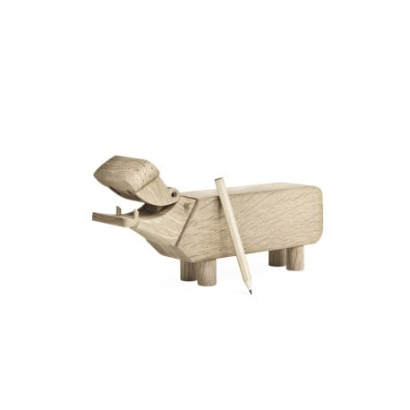 Hippo Wooden Figure - Kay Bojesen - Kay Bojesen - Furniture by Designcollectors